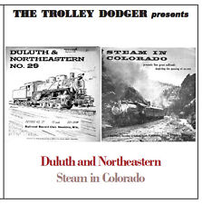 Vintage Steam Train Audio 1950s Duluth and Northeastern/Steam in Colorado on CD