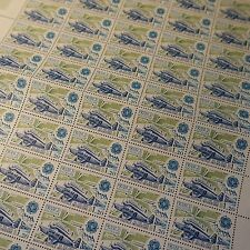 FEUILLE SHEET TIMBRE EUROPA AVIATION POSTALE N°2046 x50 1979 NEUF ** LUXE MNH