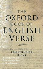 The Oxford Book of English Verse (1999, Hardcover)