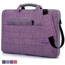"14"" 15.6"" 17.3"" Laptop Shoulder Bag Cover Case For HP DELL Computer Notebook PC"