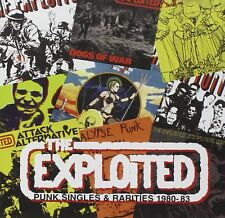Exploited Punk Singles & Rarities 1980-83 CD NEW SEALED Dead Cities/Dogs Of War+