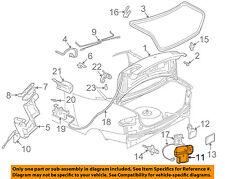 GM OEM Trunk-Lock or Actuator Latch Release 16637249