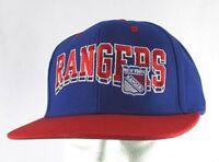 New York Rangers Blue/Red NHL Baseball Cap Snapback