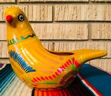 DOVE BIRD MEXICAN TALAVERA POTTERY FLOWER POT PLANTER CERAMIC Indoor Outdoors