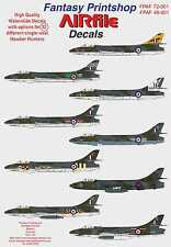 Airfile Hawker Hunter Single Seater Decals, 1/48,  32 Options, Fantasy Printshop