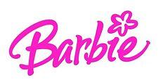 **BARBIE LOGO****FABRIC/T-SHIRT IRON ON TRANSFER