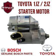NEW Toyota 1JZ / 2JZ Starter Motor BOSCH Supra Soarer Chaser Aristo JZA70 JZA80