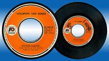 Philippines VICTOR LAUREL Te Quiero OPM 45 rpm Record