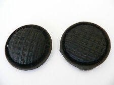 ANTIQUE TIN BLACK WOVEN VELVET VINTAGE COAT SEWING BUTTONS RETRO CRAFTS QUILT