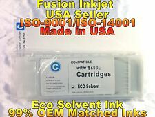 eco solvent ink compatible cartridge for Epson SureColor s30675 s50675 cyan zz