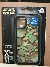 Disney Parks Baby Yoda The Child 3-D iPhone XS Max/11 Case Star Wars Mandalorian
