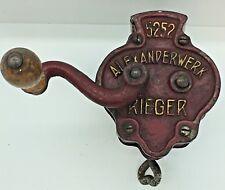 Vintage Rieger Alexanderwerk #5252 Table Mount Green Bean Slicer / Frencher
