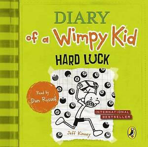Diary of a Wimpy Kid: Hard Luck (8) by Jeff Kinney CD Audio new & sealed