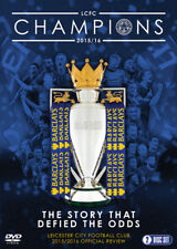 Leicester City: 2015/2016 Official Review DVD (2016) Claudio Ranieri ***NEW***