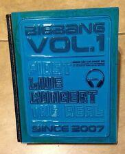 BIGBANG Vol.1 First Live Concert The Real Since 2007 DVD + book set