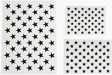 Stencil Template Reusable Starfield Painting 3 Pieces American Flag 50 Stars