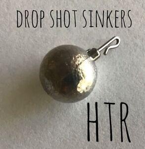 HTR Fishing Supplies Drop Shot Sinkers Interlock Swivel (4 sizes)