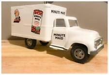 Vintage Minute Maid Tonka Private Label Pressed Steel Box Semi Truck
