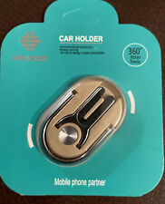 NEW Hicucoo 3 in 1 Multi-purpose Cell-phone Ring Holder Kickstand and Car Mount