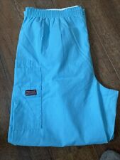 Cherokee Style 4200P Light Blue Scrub Pants Large Petite