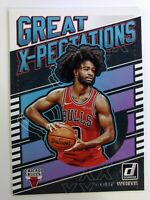 2019-20 Panini Donruss Great X-Pectations Coby White Rookie RC #21, Bulls