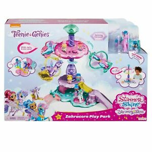 Shimmer & Shine Teenie Genies Zahracorn Play Park Brand New