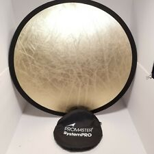 """Promaster SystemPRO ReflectaDisc  22"""" Silver/Gold New"""