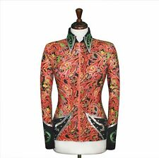 SMALL  Showmanship Pleasure Horsemanship Jacket Shirt Rodeo Queen Rail Outfit
