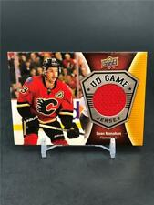 2016-17 UPPER DECK UD GAME JERSEY SEAN MONAHAN JERSEY RELIC FLAMES