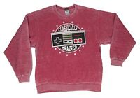 Men's Nintendo NES Classically Trained Distressed Pullover Sweatshirt Soft Faded