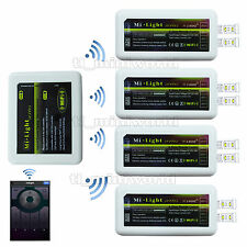 WiFi+4x LED Dimmer - 2.4G RF Wireless Mi.Light 4-Zone Android IOS Mobile Control