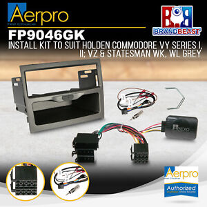 Aerpro FP9046GK Single DIN Stereo Install Kit to Suit Holden