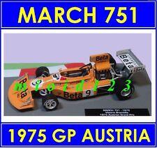 1/43 - MARCH 751 : V. BRAMBILLA - WINNER GP AUSTRIA 1975 - Die-cast - FORMULA 1