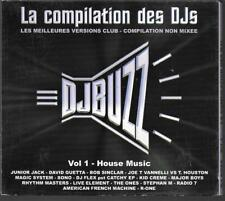 2 CD DIGIPACK 16 TITRES--CONPILATION DES DJS VOL.1--HOUSE MUSIC