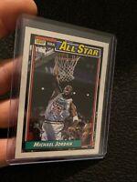 Michael Jordan 1992 Topps GOAT NBA RARE ICONIC Chicago Bulls NR INVEST #115