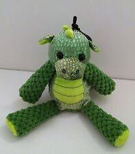 "Scentsy Kids Buddy Clip Scout the Green Dragon Mini 7.5"" Plush Wild What-a-melon"