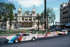 BMW M1 Procar & Depailler  - Monte Carlo 1979 - photograph photo