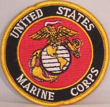 USMC UNITED STATES MARINE CORPS MILITARY EMBROIDERED MOTORCYCLE BIKER PATCH M-20
