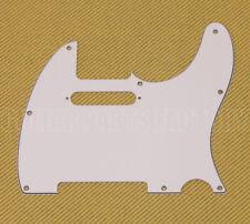 099-1355-000 Genuine Fender White 3-ply Standard Telecaster/Tele Pickguard