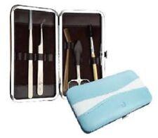 JOVISA Eyelash Extensions Tweezers Tool Portable Box Makeup Set Kit Case