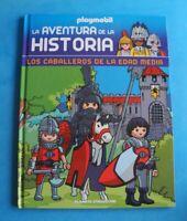 Playmobil La aventura de la Historia Libro Los Caballeros de la edad media+