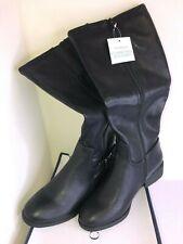 comfort &barrow black under the knee boots size 7