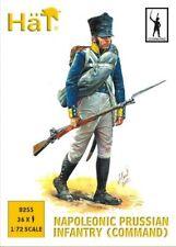 HAT 1/72 Napoléonienne PRUSSE INFANTERIE (Command) #8255