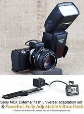 Viltrox Flash Speedlight FOR Sony NEX 3 C3 5 5N 5R F3 Camera HVL-F20S HVL-F7S