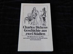 Charles Dickens, Geschichte aus zwei Städten, Erste Auflage 1987, insel