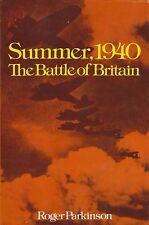 Summer, 1940 - The Battle of Britain (1st American Edition) RAF v. Luftwaffe