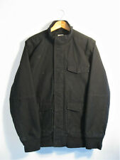 CARHARTT | Men's Black Duck Canvas QUILT LINED Workwear Work Jacket | M