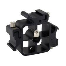 All-metal Tri-Hot Shoe Mount Adapter for Flash Holder Bracket Light Stand HOT