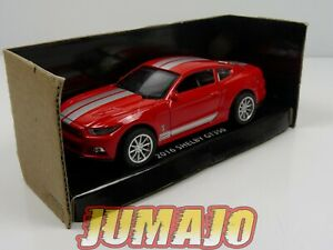 SHE3 voiture 1/43 FORD LEGEND SERIES : Shelby Mustang GT350  2016  Red/Grey