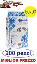 Assorbello Basic 60x90 traverse tappetini igienici assorbenti per cani 200 pezzi